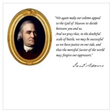 Samuel Adams Canvas Art