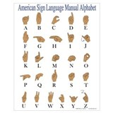 Asl Wrapped Canvas Art