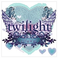 Twilight Forever by Twibaby.com Framed Print