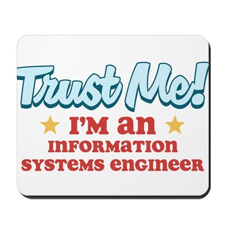 Trust Me Information systems Mousepad