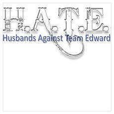 HATE - Husbands Against Team Poster