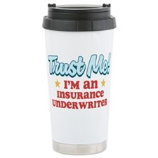 Trust Me Insurance underwrite Travel Mug