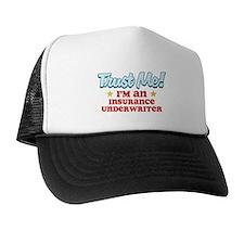 Trust Me Insurance underwrite Trucker Hat