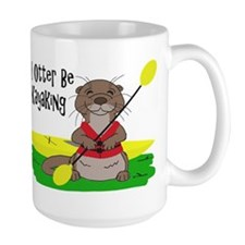 I Otter Be Kayaking Mug