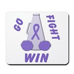 Violet WIN Ribbon Mousepad