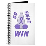 Violet WIN Ribbon Journal