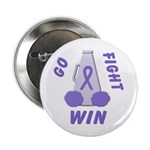 Violet WIN Ribbon Button