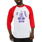Violet WIN Ribbon Baseball Jersey