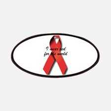 Red Ribbon Patches
