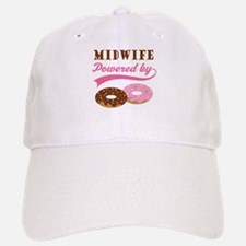 Midwife Gift Doughnuts Baseball Baseball Cap
