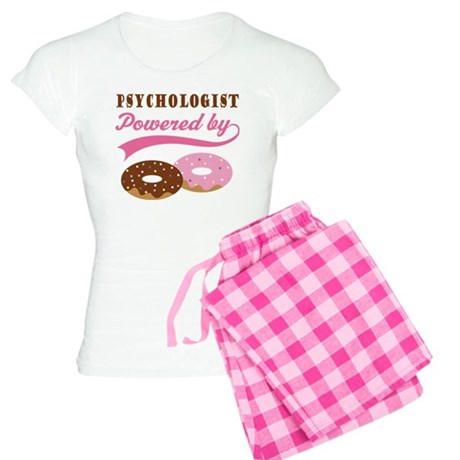 Psychologist Gift Doughnuts Women's Light Pajamas