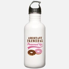 Assistant Principal Gift Doughnuts Water Bottle