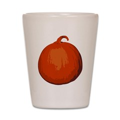 Pumpkin Shot Glass