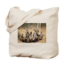 Special A Business of Mongoose Tote Bag Front/Back