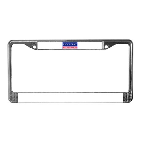 Rick Perry for President 2012 License Plate Frame