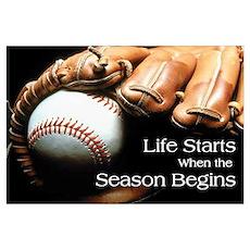Life Starts when the Season Begins Pri Poster