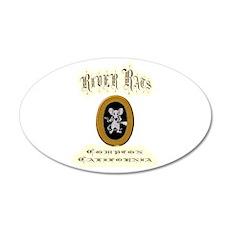 River Rats Compton 22x14 Oval Wall Peel