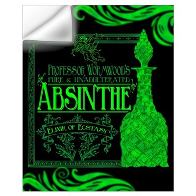 Prof. Wormwood Absinthe Wall Decal