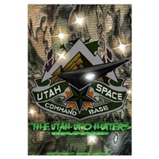Utah Space Command Canvas Art