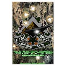 Utah Space Command Poster