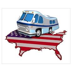 RV Across America Poster