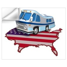 RV Across America Wall Decal