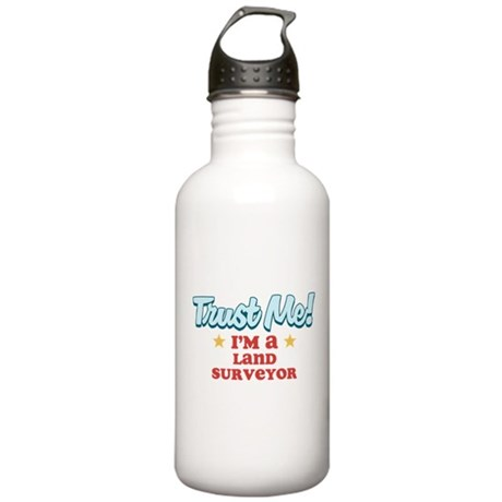 Trust Me Land Surveyor Stainless Water Bottle 1.0L
