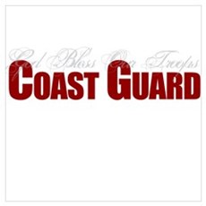 God Bless Our Troops: Coast Guard Prin Poster