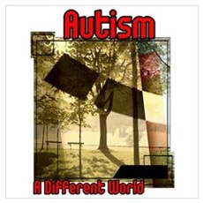Autism A Different World Poster