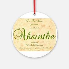 Absinthe Label - Ornament (Round)