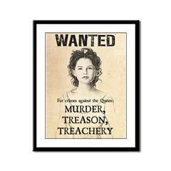Wanted: Snow White Framed Panel Print