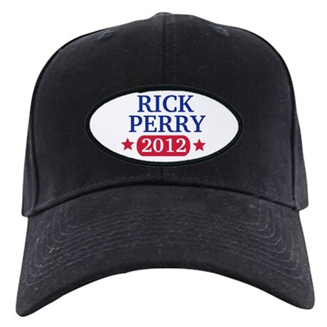 Rick Perry 2012 Black Cap