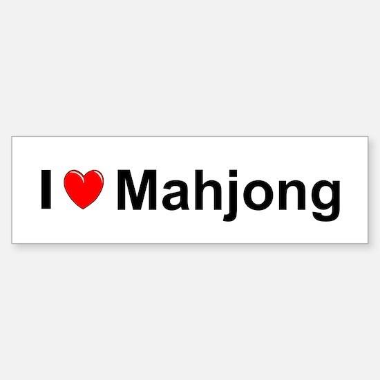Mahjong Sticker (Bumper)