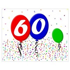 60th Birthday Poster