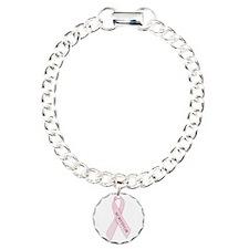 Pink Ribbon 'Survivor' Bracelet