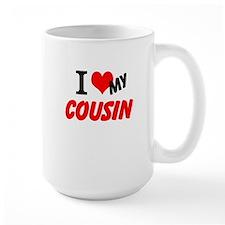 I Heart My Cousin Mug
