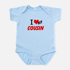 I Heart My Cousin Infant Bodysuit