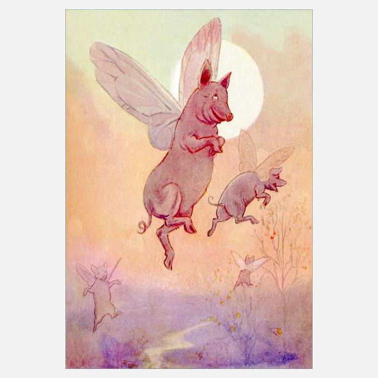 WHEN PIGS FLY IN WONDERLAND