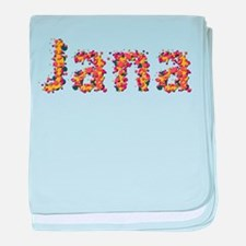 Jana Fiesta baby blanket