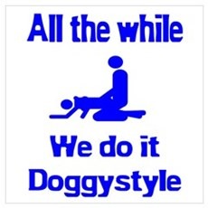 Doggystyle Framed Print