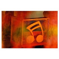 Music note Poster