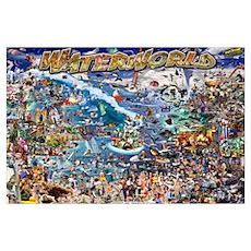 Waterworld 24x36 Poster