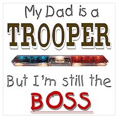 Dad is Trooper Poster