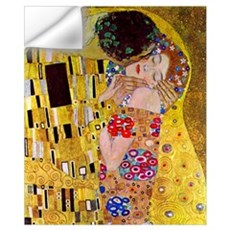 Gustav Klimt The Kiss (detail) medium Wall Decal