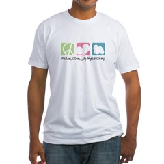 Peace, Love, Japanese Chins Shirt