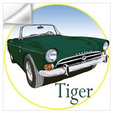The Green Tiger Wall Decal