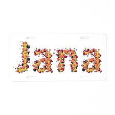 Jana Fiesta Aluminum License Plate