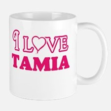I Love Tamia Mugs