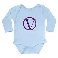 V Long Sleeve Infant Bodysuit