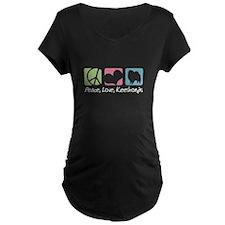 Peace, Love, Keeshonds T-Shirt